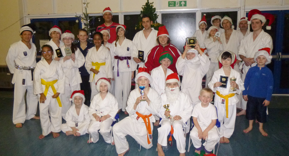 Brightlingsea Karate Xmas2013