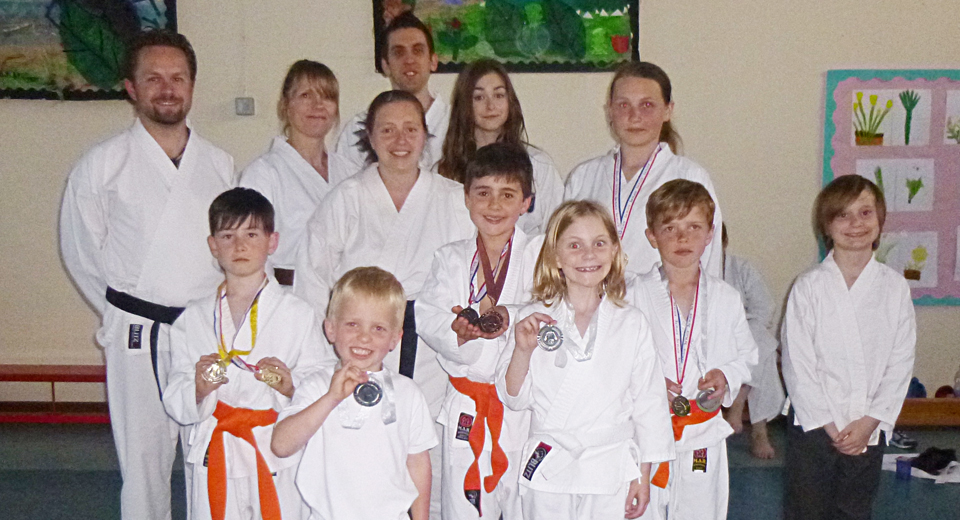 Brightlingsea medal winners, instructors and helpers