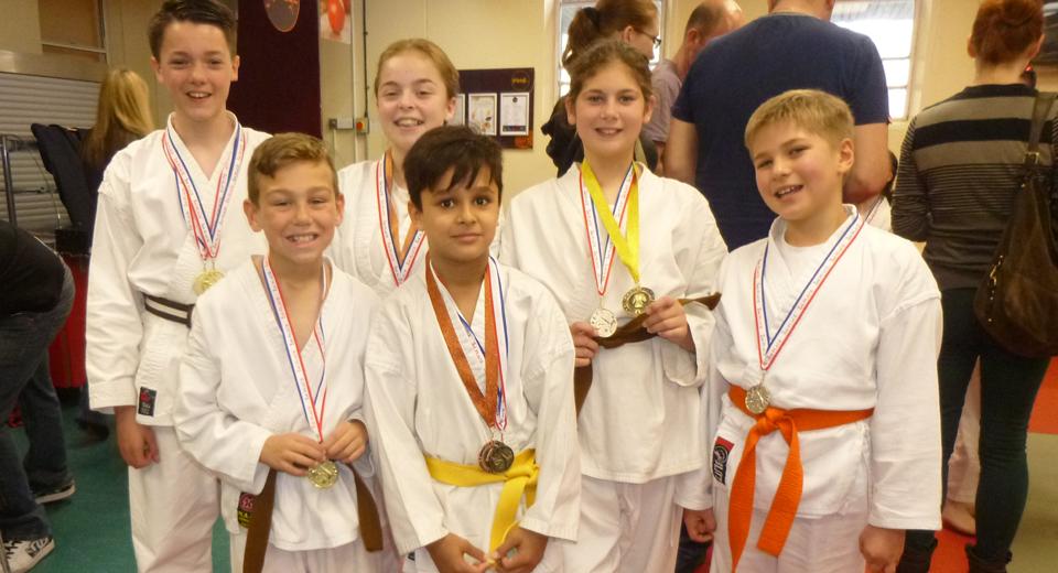Colchester medal winners