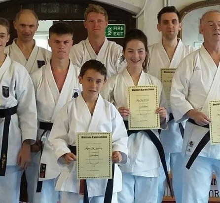 Dan Grading 5th July 2015